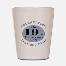 Funny 40th Birthday Shot Glass