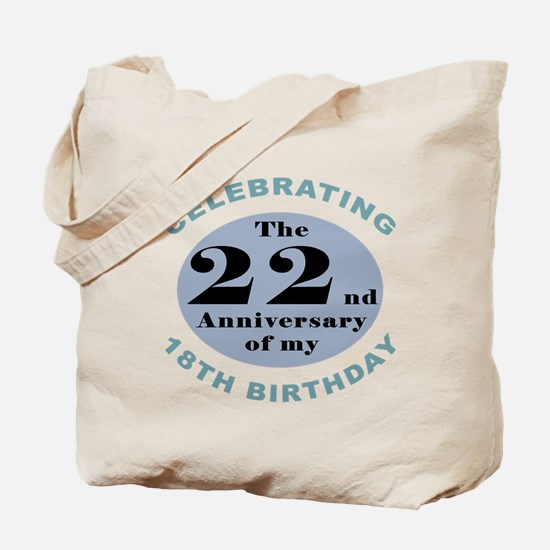 Funny 40th Birthday Tote Bag