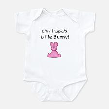 Papa's Little Bunny (pink) Onesie
