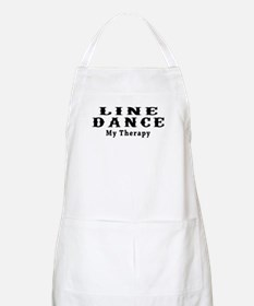 Line Dance My Therapy Apron