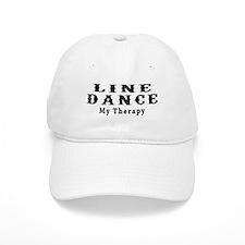 Line Dance My Therapy Baseball Cap