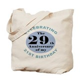 50th birthday men Canvas Totes