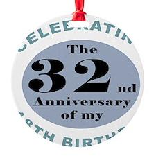 Funny 50th Birthday Ornament