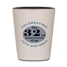 Funny 50th Birthday Shot Glass