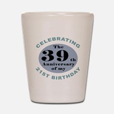 Funny 60th Birthday Shot Glass