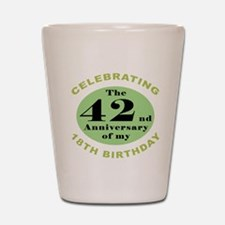 Funny 60th Birthday Shot Glass