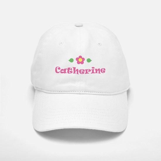 "Pink Daisy - ""Catherine"" Baseball Baseball Cap"