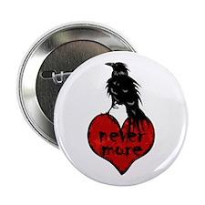 Nevermore Raven Button