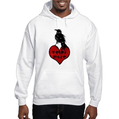 Nevermore Raven Hooded Sweatshirt