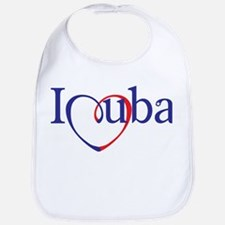 I Heart Cuba Bib