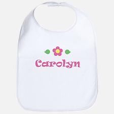 """Pink Daisy - """"Carolyn"""" Bib"""