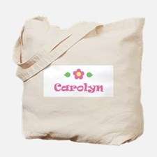 "Pink Daisy - ""Carolyn"" Tote Bag"