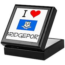 I Love Bridgeport Connecticut Keepsake Box
