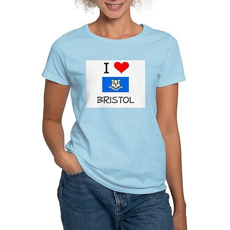 I Love Bristol Connecticut T-Shirt