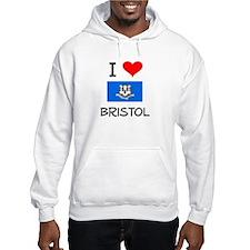 I Love Bristol Connecticut Hoodie