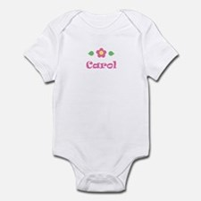 "Pink Daisy - ""Carol"" Infant Bodysuit"