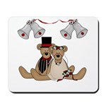 Teddy Bear Wedding Mousepad