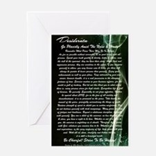 DESIDERATA Poem Dolphins Greeting Cards