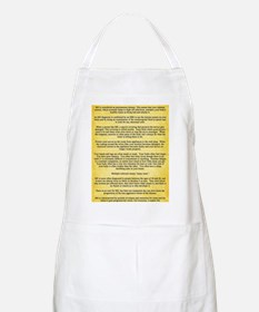Multiple Sclerosis Awareness Ribbon Definiti Apron
