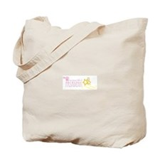 A Girl from PASADENA with hearts with Stars Tote B
