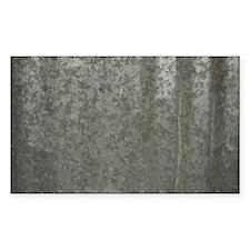 Corrugated Sheet Metal Decal