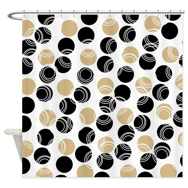 Weathermate Broadstripe Black Beige Insulated Thermalogic Beige And Black Polka Dot Shower