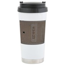 Sewer Access Cover Travel Mug