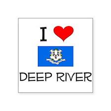 I Love Deep River Connecticut Sticker
