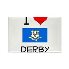 I Love Derby Connecticut Magnets