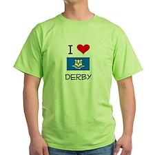 I Love Derby Connecticut T-Shirt