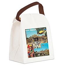 Legend City 1960s Canvas Lunch Bag