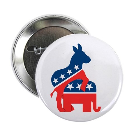 """Democrats on Top 2.25"""" Button (10 pack)"""