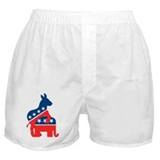 Democrats on Top Boxer Shorts