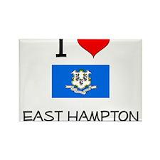 I Love East Hampton Connecticut Magnets