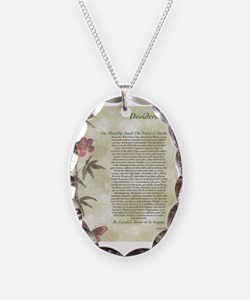 DESIDERATA  Necklace