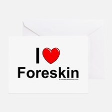 Foreskin Greeting Card