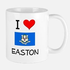 I Love Easton Connecticut Mugs