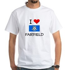 I Love Fairfield Connecticut T-Shirt