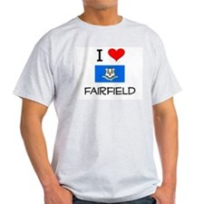 I Love Fairfield Connecticut T-Shirt