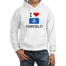 I Love Fairfield Connecticut Hoodie