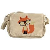 Fox Messenger Bag
