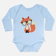 Hipster Red Fox Onesie Romper Suit