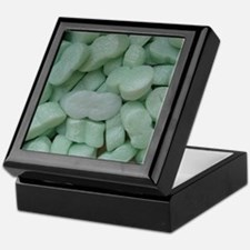 Green Packing Peanuts Keepsake Box