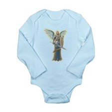 Angel Michael Long Sleeve Infant Bodysuit