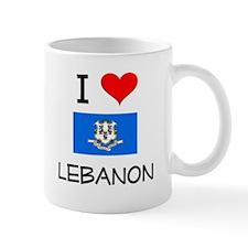 I Love Lebanon Connecticut Mugs