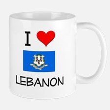I Love Lebanon Connecticut Mugs