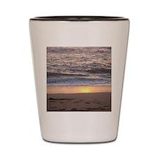 Ocean Sunset  Shot Glass