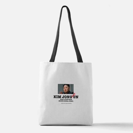 KIM JOHN FAT UN - DPRK Polyester Tote Bag