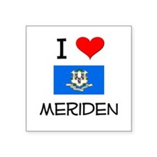 I Love Meriden Connecticut Sticker