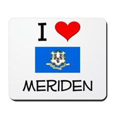 I Love Meriden Connecticut Mousepad